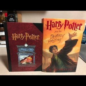 Harry Potter lot of 2 Books